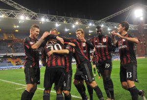 Soccer: Italy's Cup; Eight Finals, Sampdoria-Milan