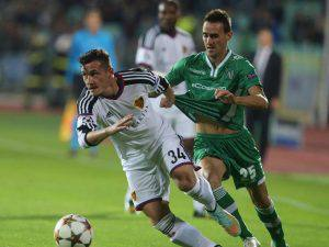 22 10 2014 Sofia Bulgaria PFC Ludogorets FC Basel UEFA Champions League men s football Taulant Xh