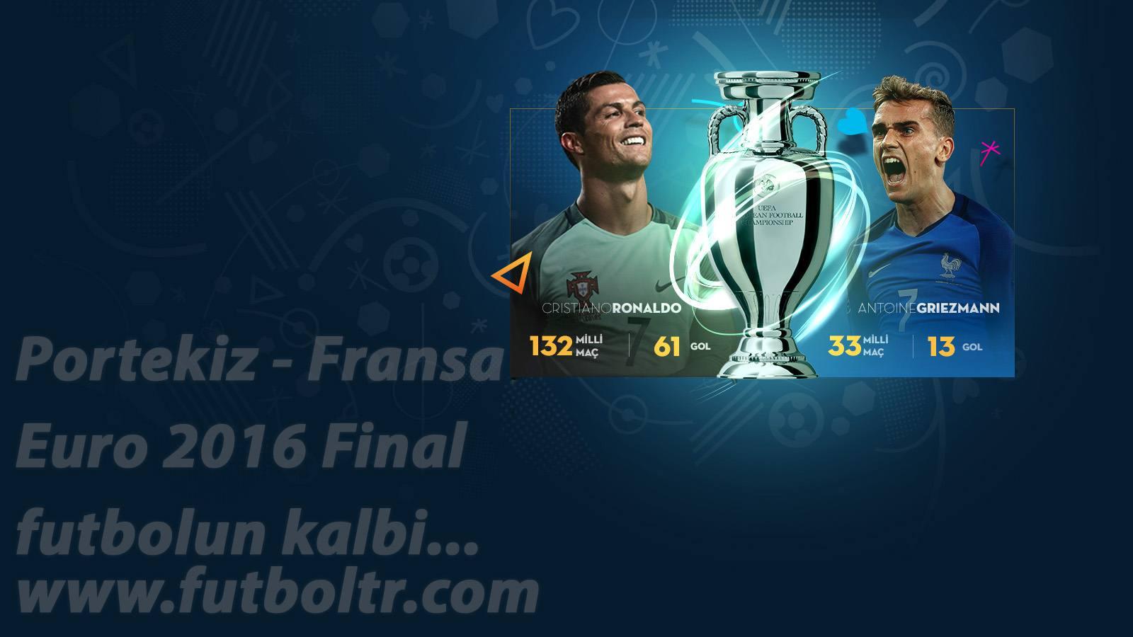 Portekiz Fransa Maç Analizi (10.07.2016) İddaa Tahminleri