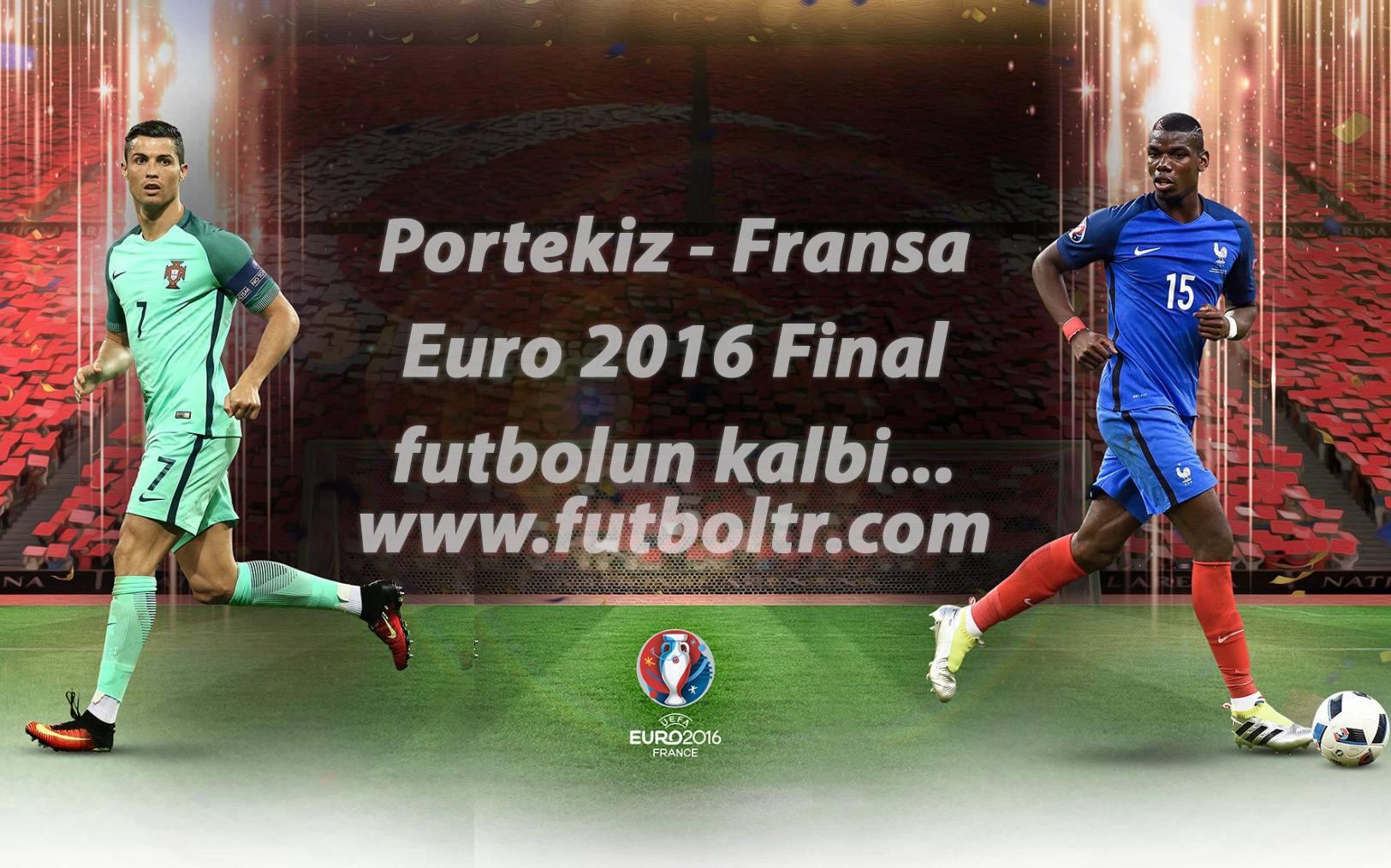 Avrupa'nın Patronu Kim Olacak? EURO 2016 Final Maçı İddaa Tahmini (10 Temmuz)