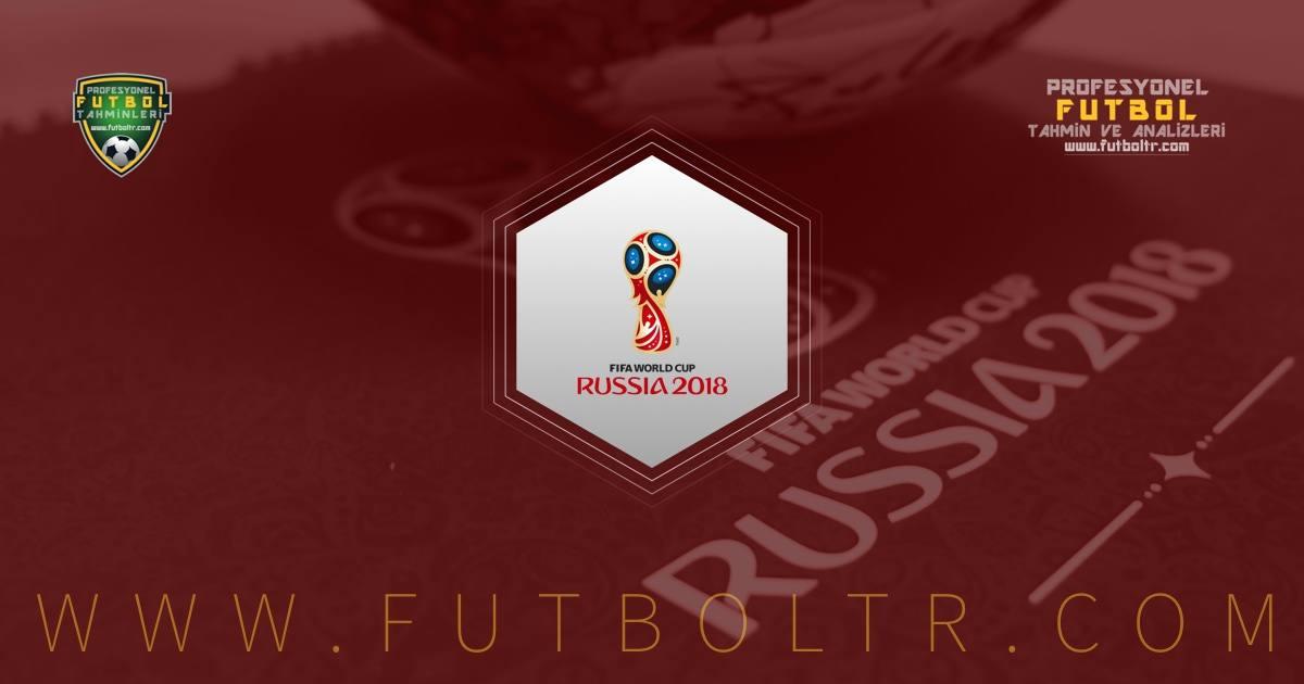 2018 Dünya Kupası Elemeleri İddaa Tahminleri